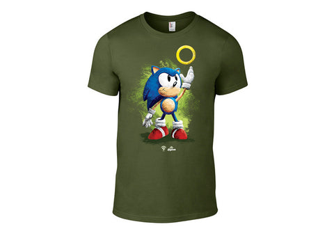 Legends Sonic Character T-Shirt