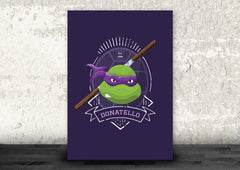 Donatello of the Teenage Mutant Ninja Turtles Art Print