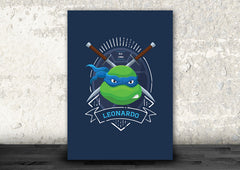 Leonardo of the Teenage Mutant Ninja Turtles Art Print