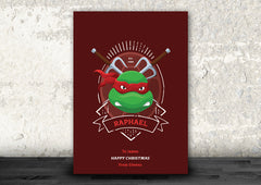 Raphael of the Teenage Mutant Ninja Turtles Art Print