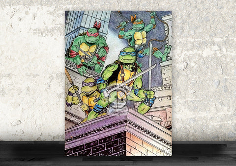 Teenage Mutant Ninja Turtles Drawing