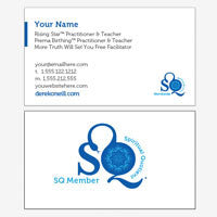 SQ Member Business Cards