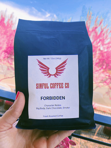 Strong bold coffee