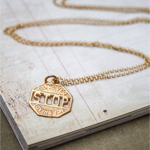 Never Stop Loving You Necklace