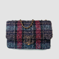 CHANEL • 19 Tweed • Multicolor