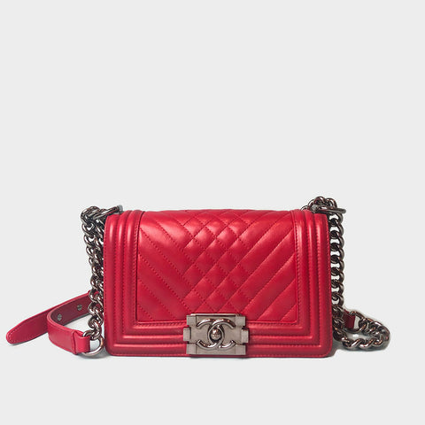 CHANEL • Boy Small • Pink
