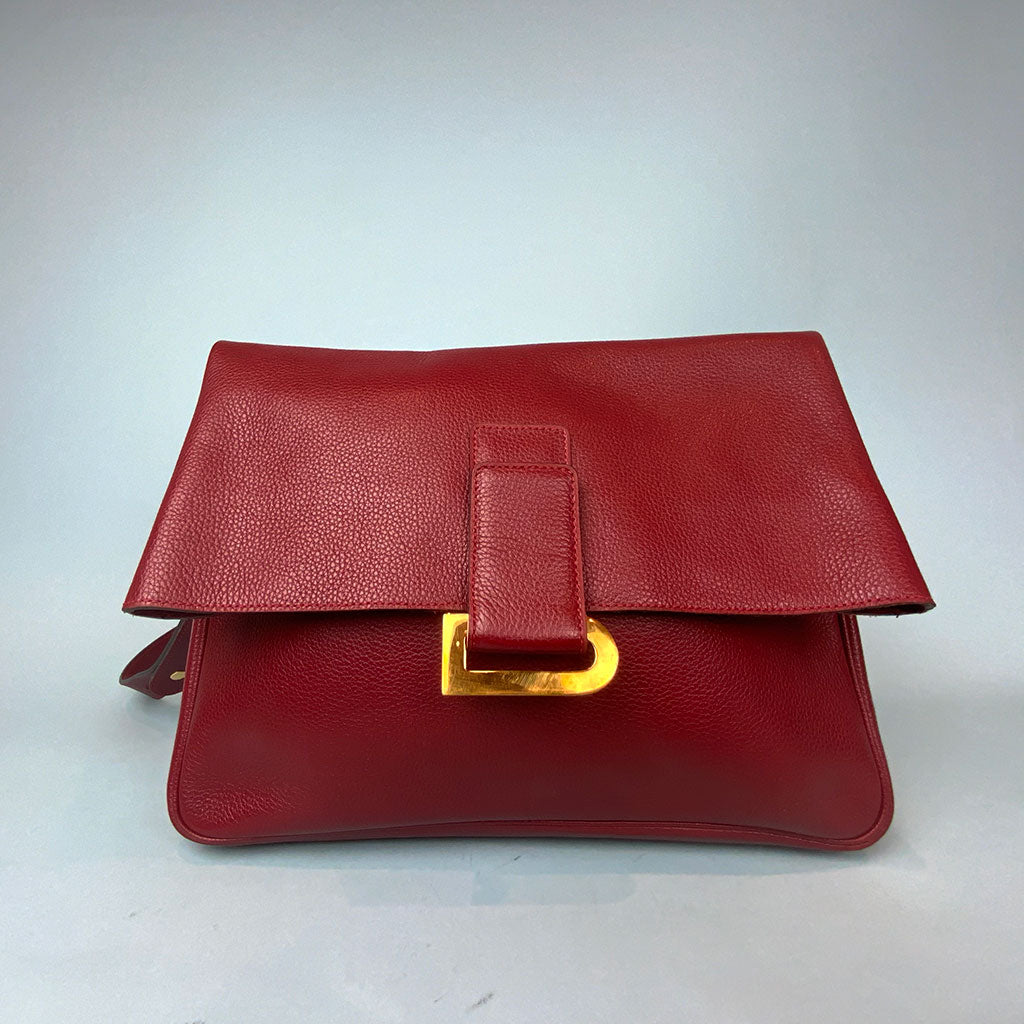DELVAUX • Vintage • Red