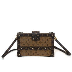 LOUIS VUITTON • Petite Malle • Monogram Reverse -- NEW
