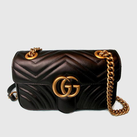 GUCCI • Marmont Mini • Black -- RESERVED