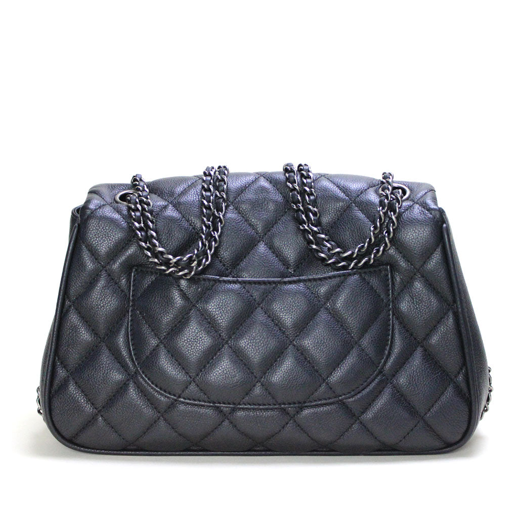 CHANEL • Frame In Chain flap bag • Black -- RESERVED