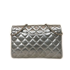 CHANEL • Timeless • Silver Canvas