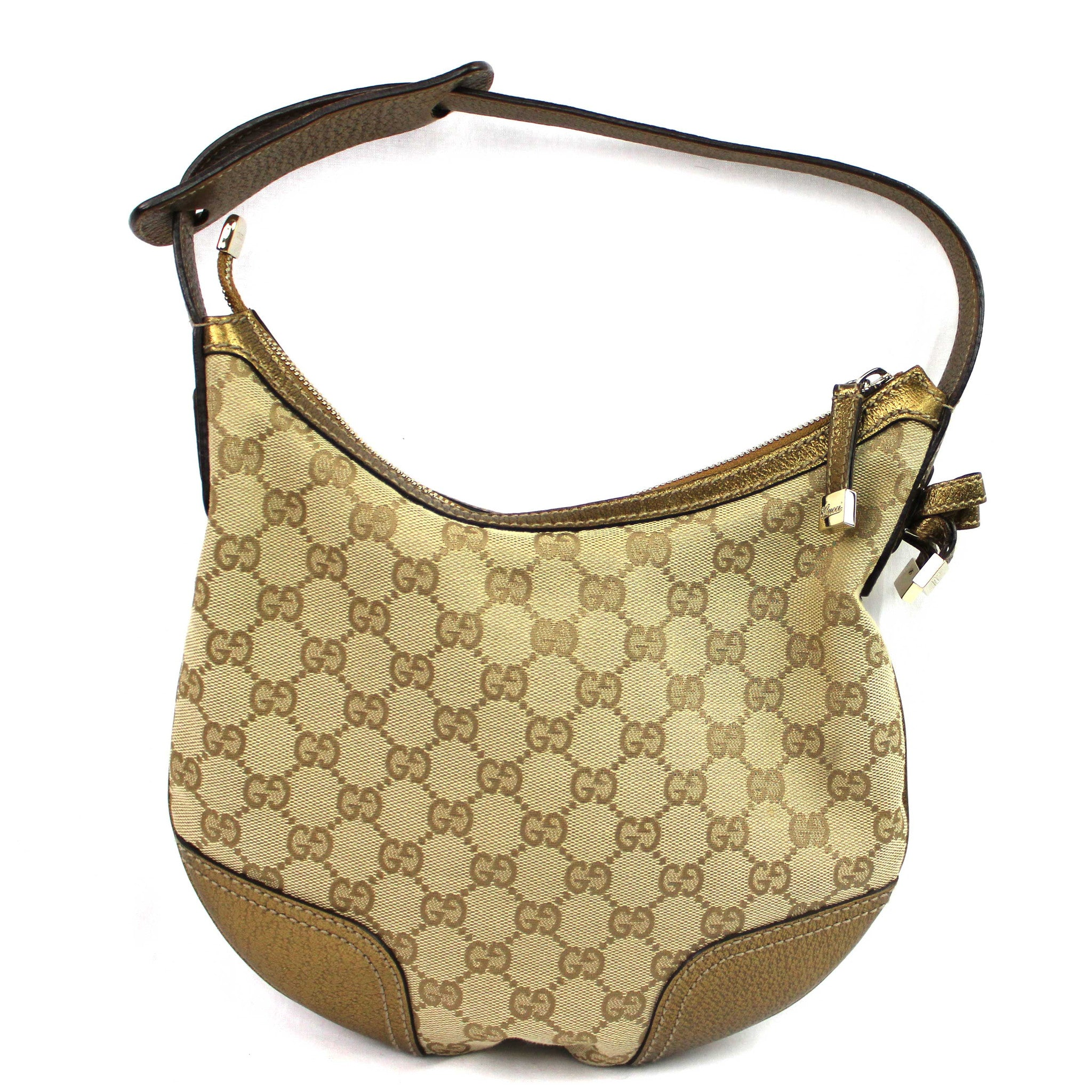 GUCCI Small Hobo Gold