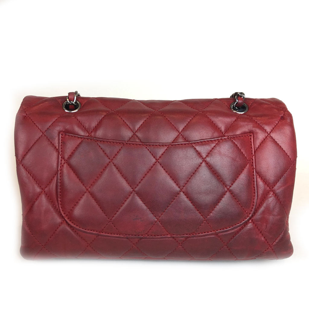 CHANEL • Timeless Three Bag • Red