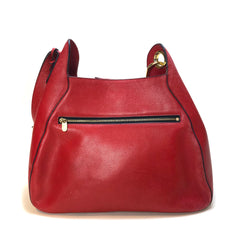 DELVAUX • Bucket • Red