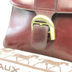 DELVAUX Brillant Bordeaux PM