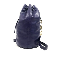 VERSACE Bucket Bag Purple