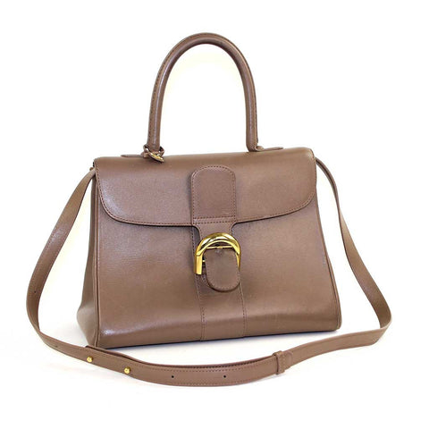 DELVAUX Brillant MM Taupe