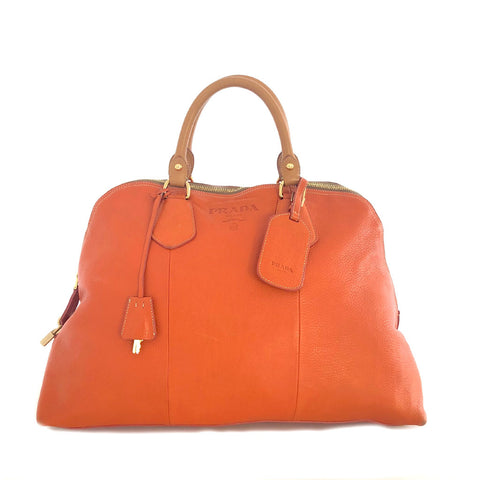 Prada • Shopper • Orange