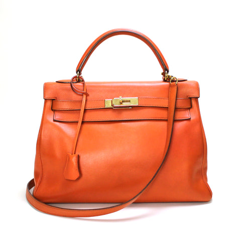 HERMES • Kelly 32 Swift • Orange - RESERVED