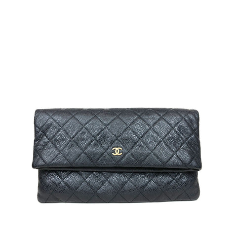 CHANEL • Clutch • Black