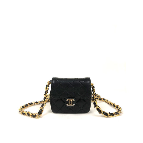 CHANEL • Timeless Micro • Black - COLLECTOR