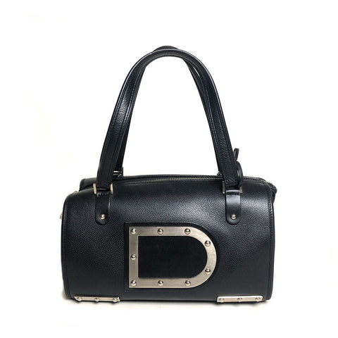 DELVAUX • Astrid Boston PM • Black - RESERVED