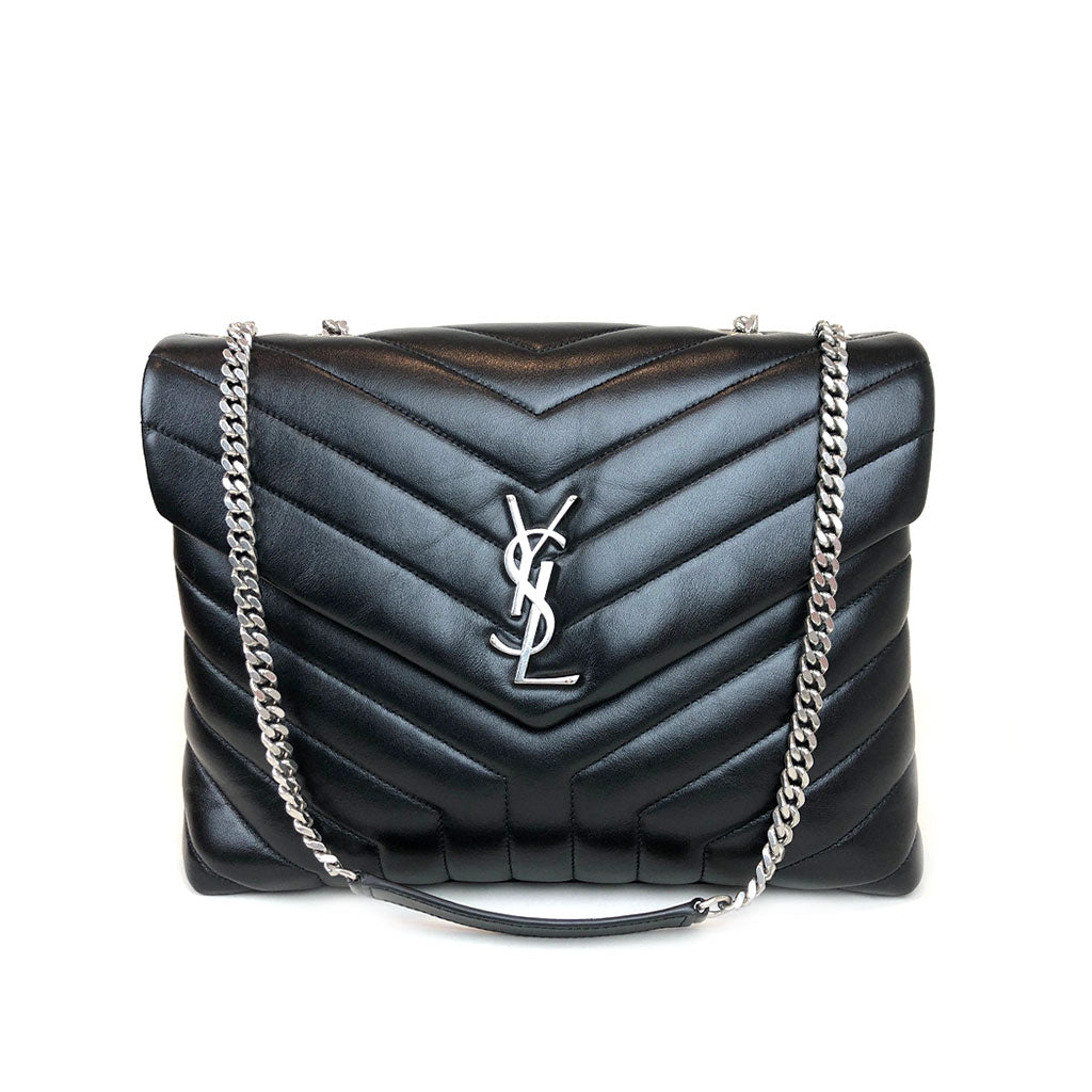 SAINT LAURENT • Loulou Medium  • Black
