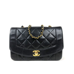 CHANEL • Diana • Black