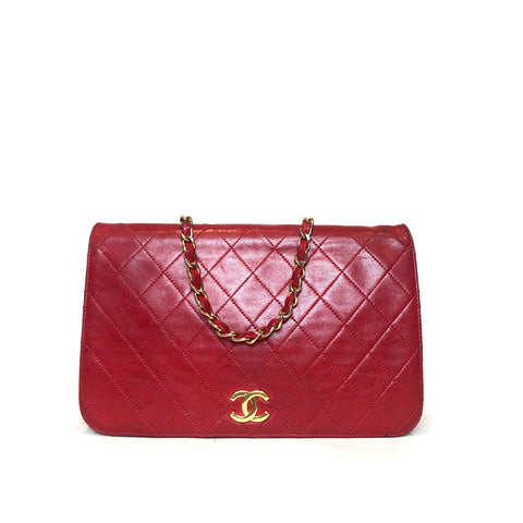 CHANEL • WOC vintage • Red