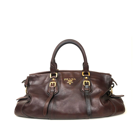 PRADA • Handbag • Brown