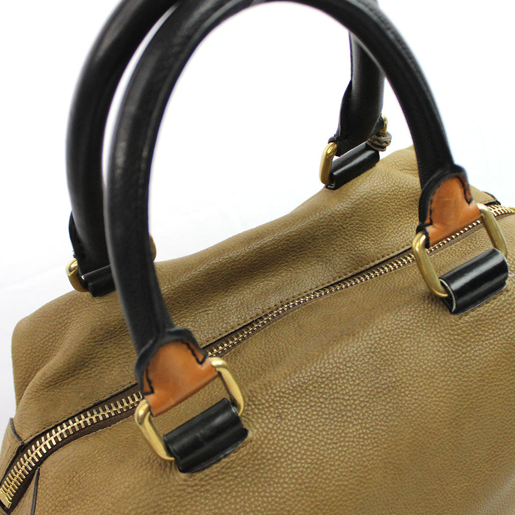 CELINE • Racer Stripe Boston • Brown