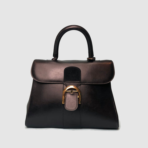 DELVAUX • Brillant Medium • Black