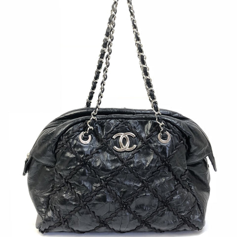 CHANEL Tweed on Stitch Bubble Tote