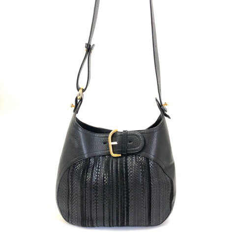 Delvaux Shoulder Bag Black
