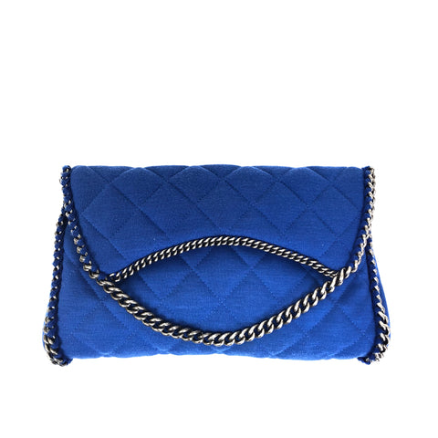CHANEL Pochette Blue