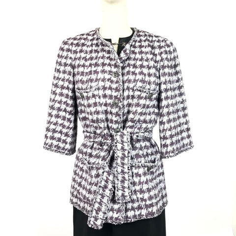 CHANEL Jacket Blue - size 40