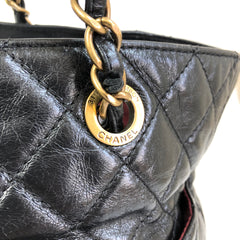 CHANEL Shopper Black Vintage