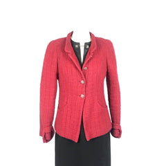 CHANEL Jacket Red - size 38