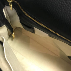 DELVAUX Black Leather