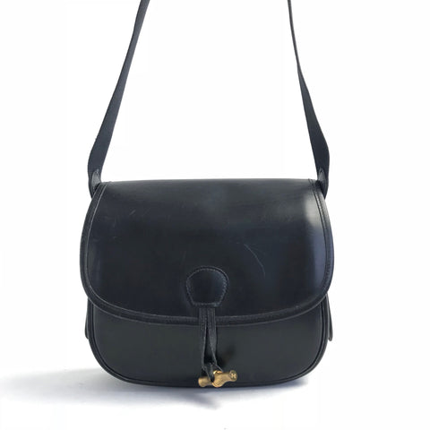 HERMES Vintage Black Shoulderbag