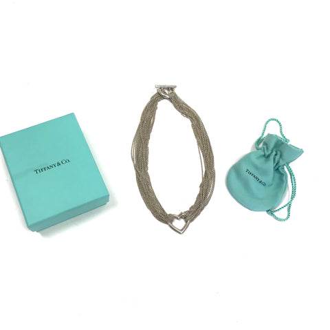 TIFFANY & CO Necklace Silver