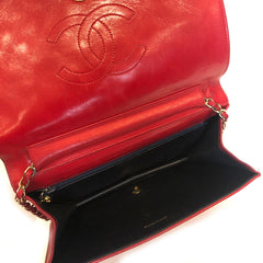 CHANEL • WOC vintage • Red -- RESERVED