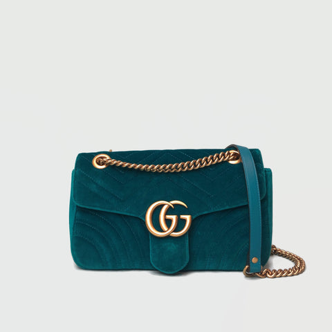 GUCCI • Marmont Small • Turquoise