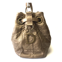 DIOR • Besace Cannage • Gold