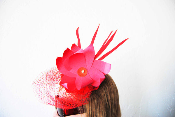 Upcycled Fascinator – Start Creative 527bf784729