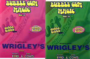 Bubble Gum Magic Set (Vol 1 and 2) by James Coats and Nicholas Byrd video DOWNLOAD - MichaelClose.com