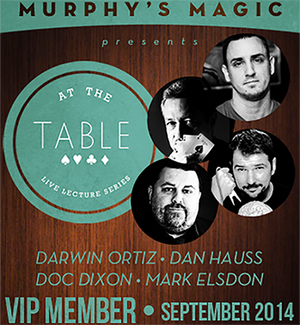 At The Table VIP Member September 2014 video DOWNLOAD - MichaelClose.com