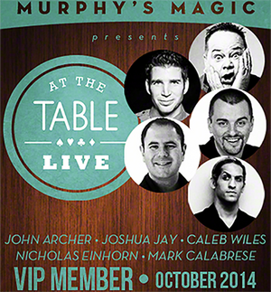 At The Table VIP Member October 2014 video DOWNLOAD - MichaelClose.com