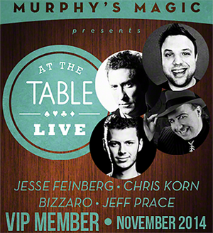At The Table VIP Member November 2014 video DOWNLOAD - MichaelClose.com