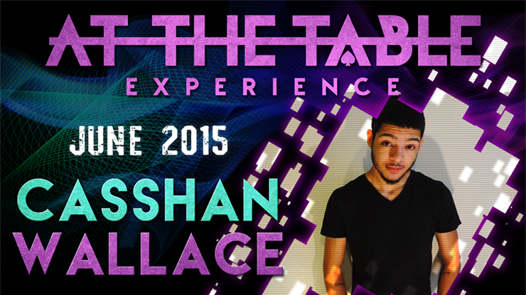 At the Table Live Lecture Casshan Wallace 6/3/2015 video DOWNLOAD - MichaelClose.com